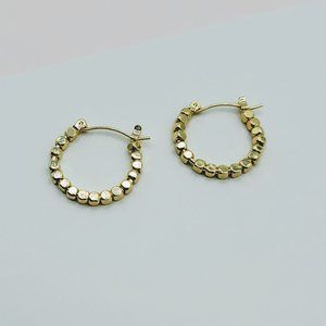 5 for $25 Gold Color Small Hoop Earrings
